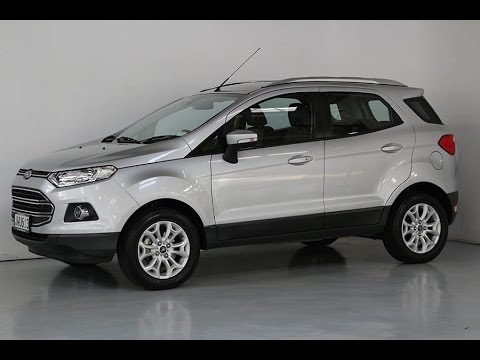 2016 ford ecosport titanium team hutchinson ford youtube. Black Bedroom Furniture Sets. Home Design Ideas
