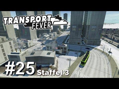 TRANSPORT FEVER S3/#25: Winterliche Skyline für Frankfurt [Let's Play][Gameplay][German][Deutsch]