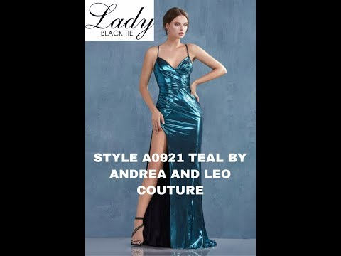 andrea-&-leo-style-a0921-teal-lady-black-tie