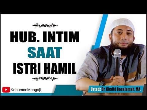 Bolehkah Berhubungan Intim saat Hamil - Ustadz Dr  Khalid Basalamah, MA