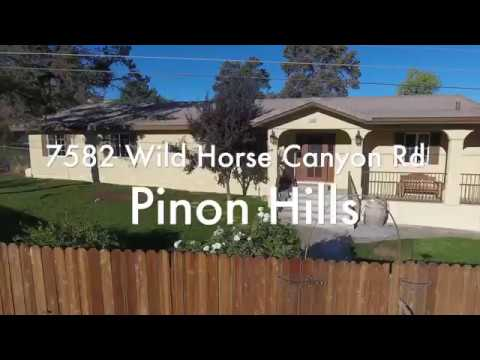 7582 Wild Horse Canyon Rd in Pinion Hills for Sale