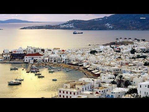 Mykonos Drone - Greece Travel Guide