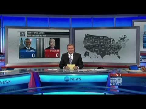 2008 US Election Australian TV coverage