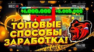 ТОПОВЫЕ СПОСОБЫ ЗАРАБОТКА НА BLACK RUSSIA CRMP MOBILE