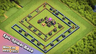 Spiral Base Challenge | Finding The Best Fighter in Clash of Clans