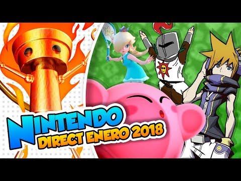 Un mini direct lleno de sorpresas ¡DARK SOULS!- Nintendo Direct (Enero 2018) DSimphony
