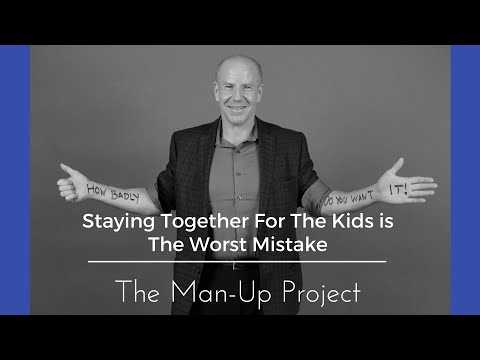 Staying Together For The Kids is The Worst Mistake
