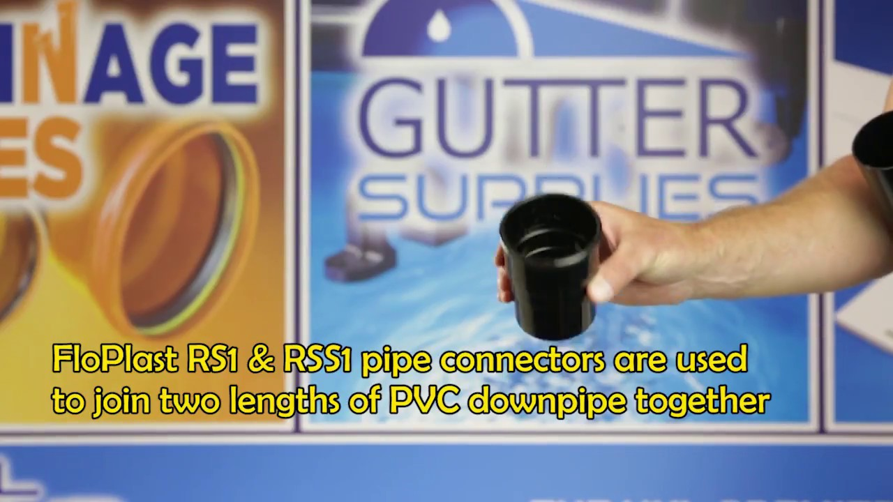 [Gutter Supplies] Pipe Connectors RS1 & RSS1: Product Overview