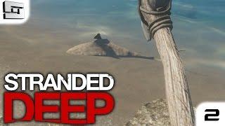 Stranded Deep Gameplay : LAND SHARK!!! E2