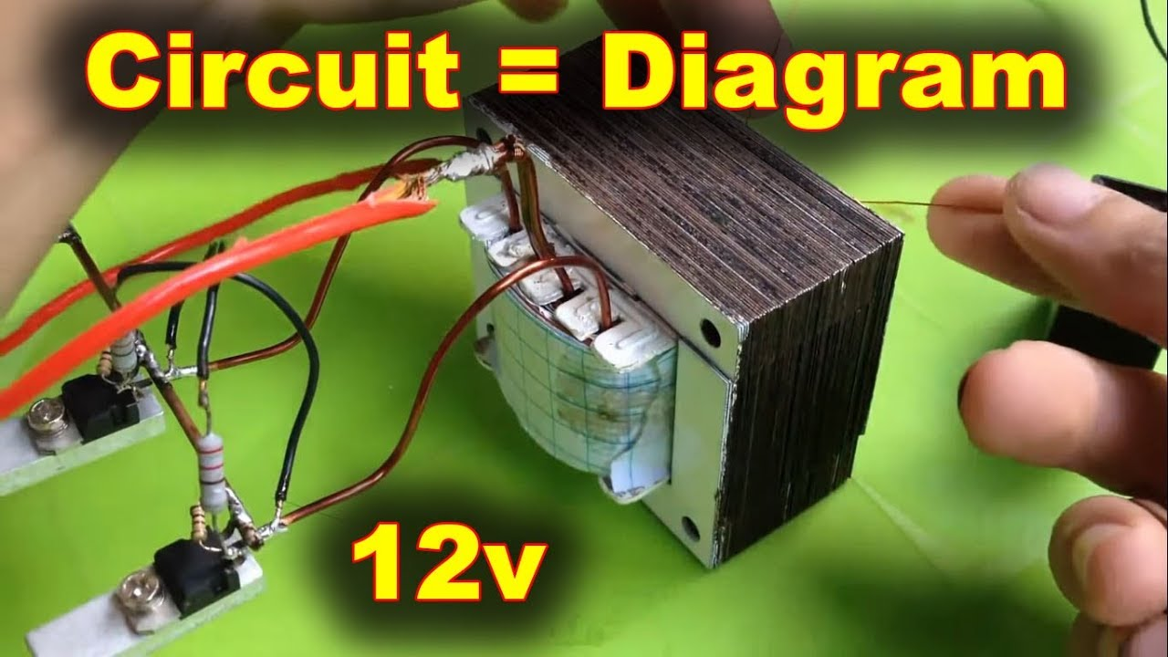 Inverter Circuit 2 Channel Mosfet IRF3205  YouTube