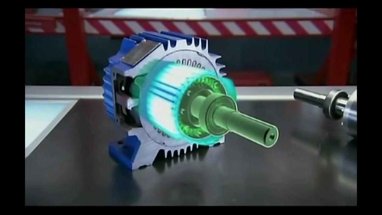 . Вращающегося строго со скоростью поля статора (синхронный двигатель) или несколько медленнее его (асинхронный двигатель). Наибольшее распространение в технике и промышленности получил асинхронный трёхфазный электродвигатель с короткозамкнутой обмоткой ротора, также называемой.