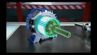 видео Устройство и принцип работы электродвигателя постоянного тока