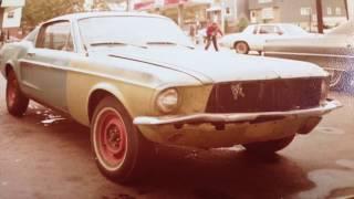 Jim's 1967 Mustang & 72 Torino during restoration