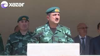 Ermənistanla sərhəddə yeni hərbi hissənin açılışı