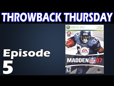 Madden 07 Throwback Thursday: SHAUN ALEXANDER IS SO BEAST! - Madden 07 Gameplay