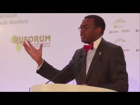 Dr. Akinwumi Adesina, Nigerian Minister of Agriculture delivers Key note Speech