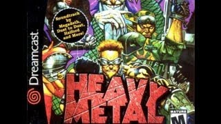 Heavy Metal: Geomatrix (Mini-Review & Impressions) (Sega Dreamcast)