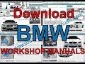 BMW Service Repair Workshop Manual Download