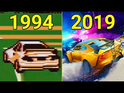 Evolution Of Need For Speed Games 1994-2019