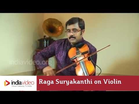 Raga Series - Raga Suryakanthi on Violin by Jayadevan