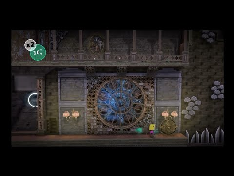 LittleBigPlanet 3/Create Mode Time Lapse - Munich Castle- Medium Section