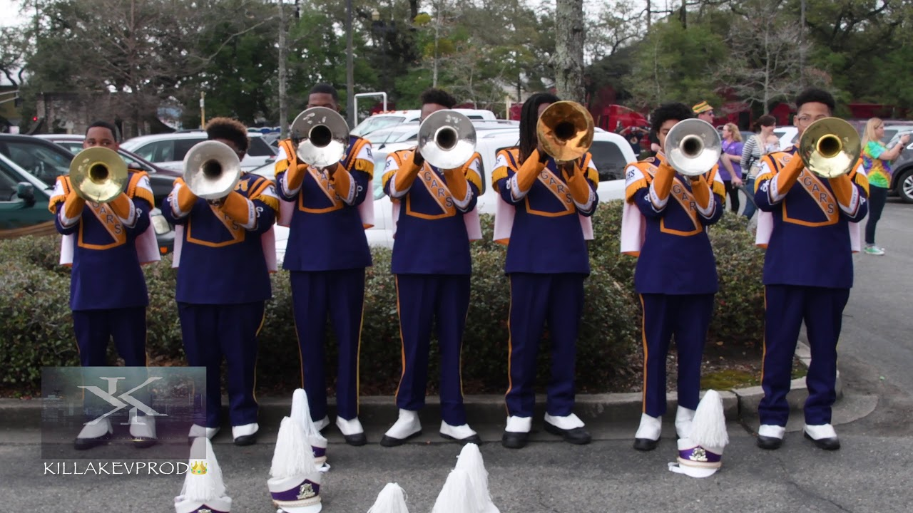 Edna Karr High School Marching Band - Drum Section - 2017 ... |Edna Karr High School Band
