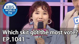 Which skit got the most vote? [Gag Concert / 2020.04.04]