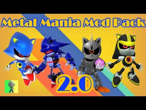 "[Sonic Mania PC] - Metal Mania Mod ""Pack"" 2.0"