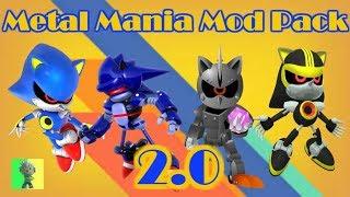 "[Sonic Mania PC] - Metal Mania Mod ""Pack"" 2.0"