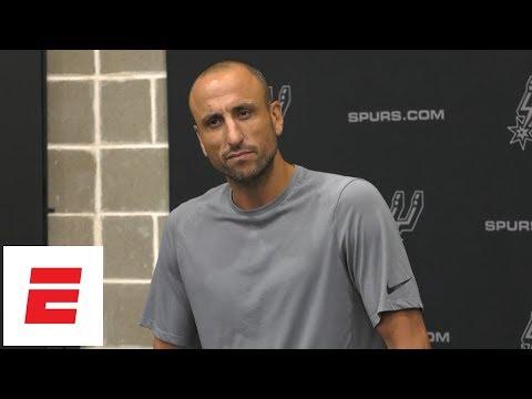 Manu Ginóbili explains decision to retire from NBA | ESPN
