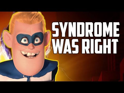 Was Syndrome Actually the Hero of The Incredibles?