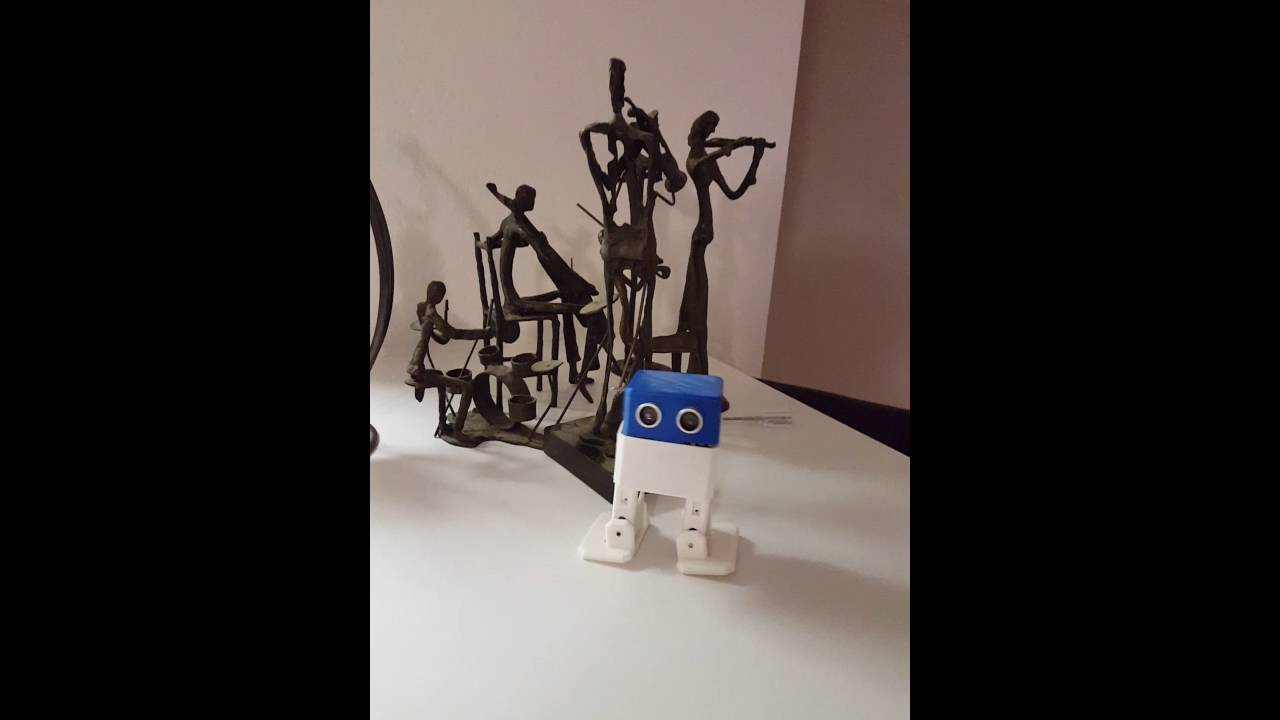 Otto dancing arduino robot project bob zowi cross youtube