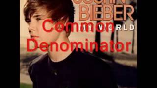 Justin Bieber - Common Denominator (Bonus Track)