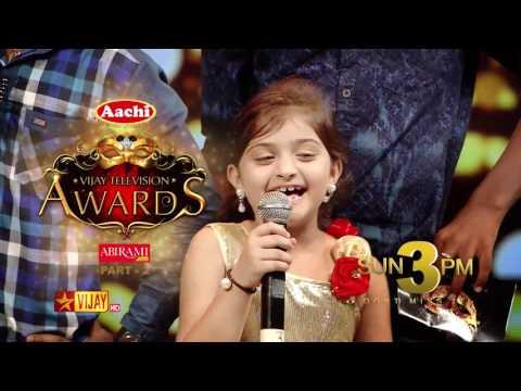 3rd Annual Vijay Awards Promo 28-05-2017 Vijay Tv Show Online