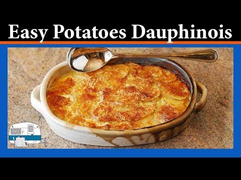 How To Bake Gratin Potatoes Dauphinois