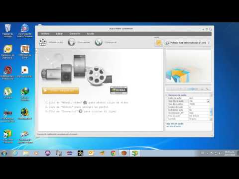 COMO  CONVERTIR VIDEOS A FORMATO  MPEG 4 xvid