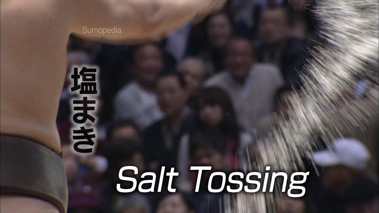 Photo of Salt Tossing [塩まき] – SUMOPEDIA – video