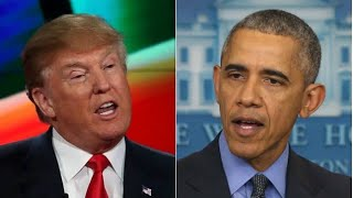 Trump talks Bernie dropping out and Obama's feelings about Joe Biden