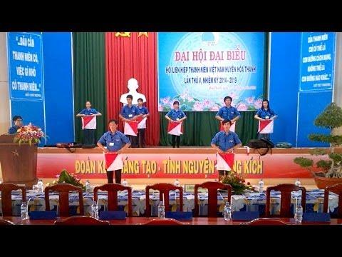 [Tổng duyệt] Đồng diễn Semaphore chào mừng Đại hội Đại biểu Hội LHTN Việt Nam lần thứ V.