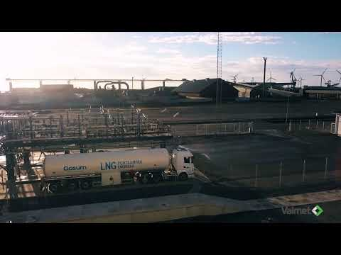 Valmet DNA Integrated Operations for LNG industry