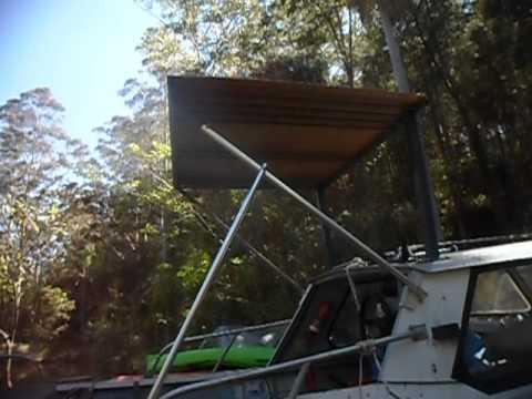 make a cheap boat aluminium hardtop DIY Part 6