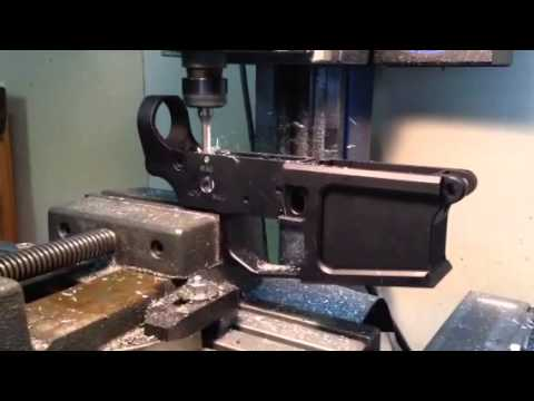 Milling AR15 lower to M16