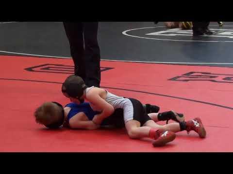 55 lbs D1 OAC SV District Jordan Keyes vs Ian Pearson