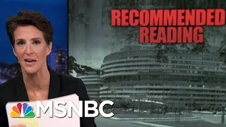 Road Map For Nixon Impeachment Published, Could Guide Robert Mueller | Rachel Maddow | MSNBC