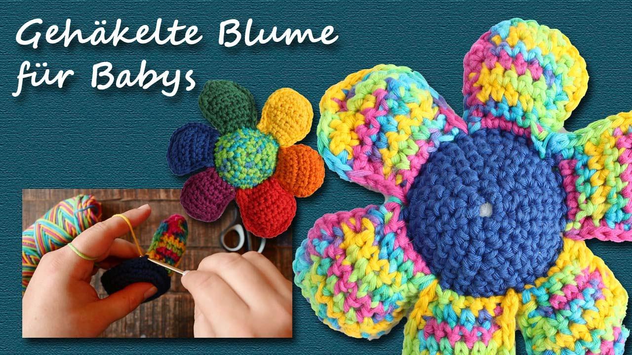 Diy Häkeln Gehäkelte Blume Spielzeug Für Babys Kreativbunt