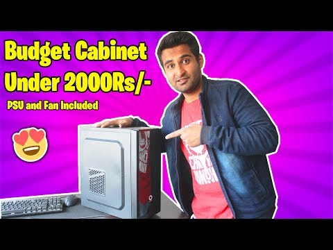[HINDI] Best PC Case For Budget PC !!
