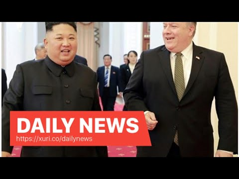 Daily News - Mike Pompeo Delays North Korean Meetings But 'Keep Up the Conversation'