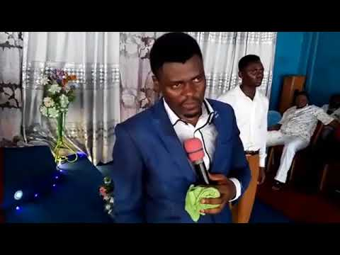 Prophesies with Prophet WN Romanus at Divinity Church of All Nations, Douala, Cameroon