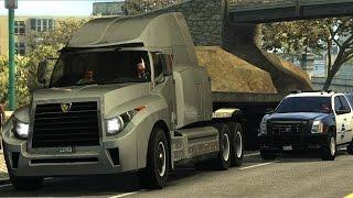 Driver San Francisco - 18 Wheeler Flatbed Police Chase