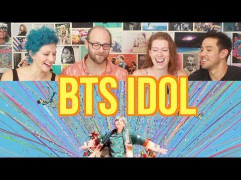 BTS - IDOL- REACTION